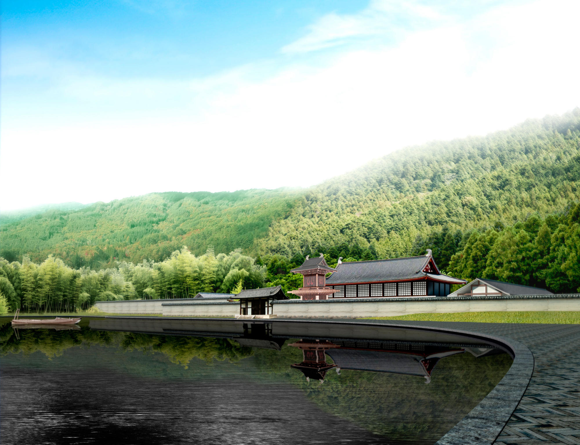 Nanquan Temple Project | WORKS |