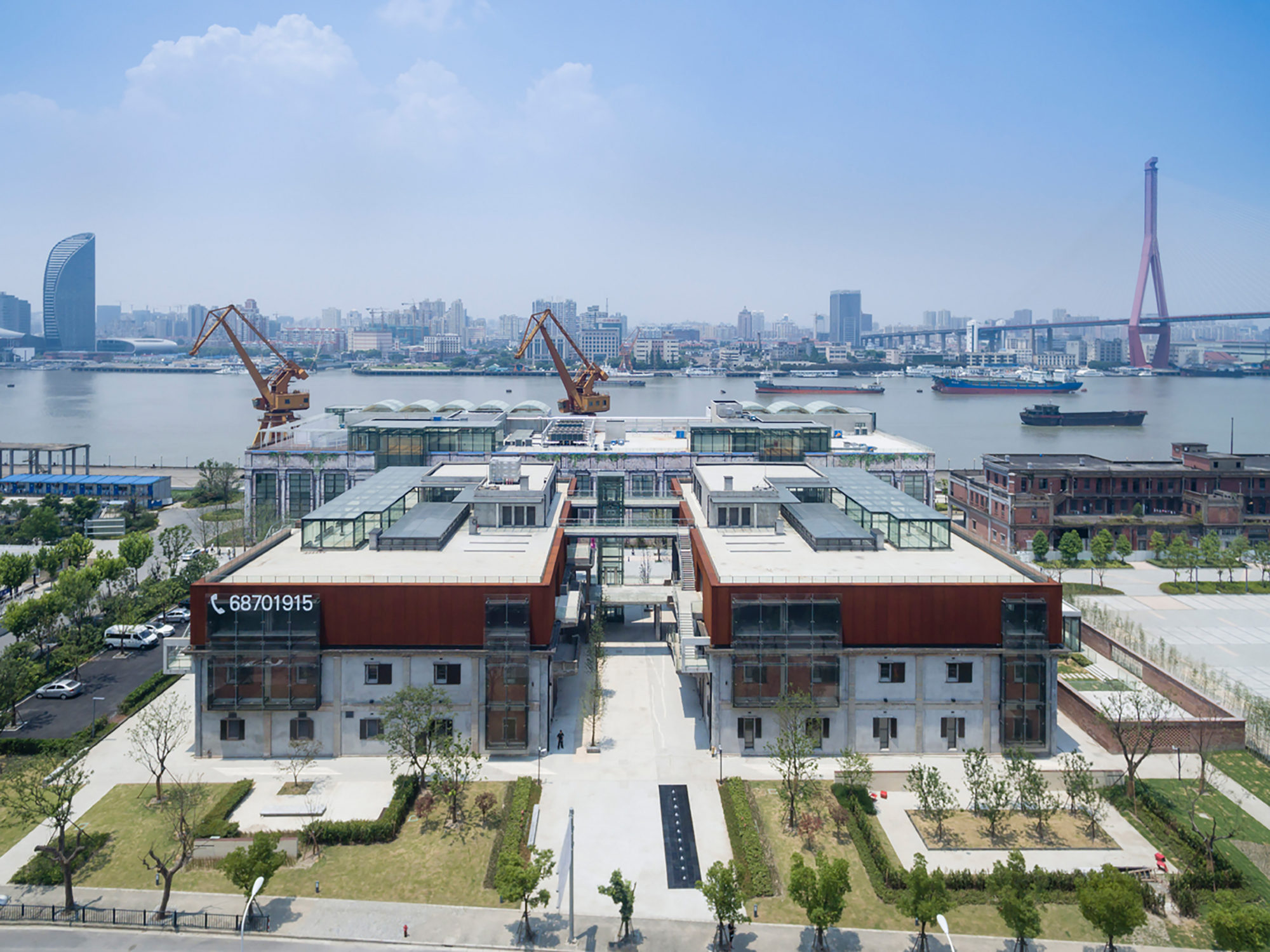 Warehouse renovation at Minsheng-road | WORKS |