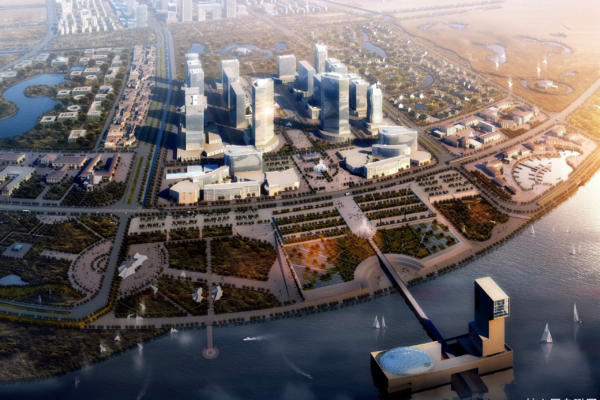 Wujiang New City planning project, China