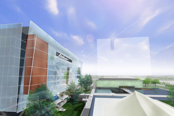 Office headquarters project, Yentai, China
