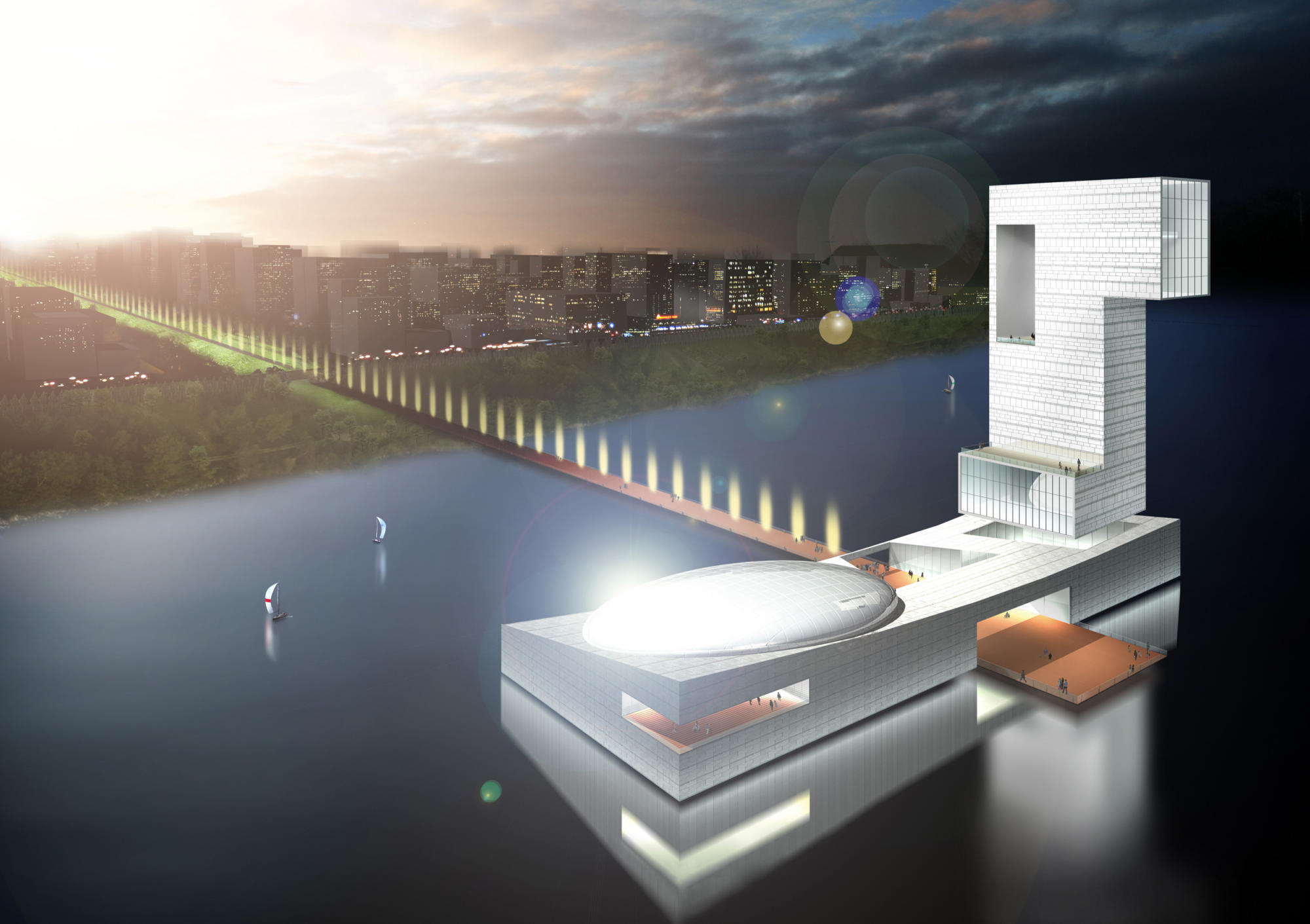 Wujiang New City planning project, China | WORKS |