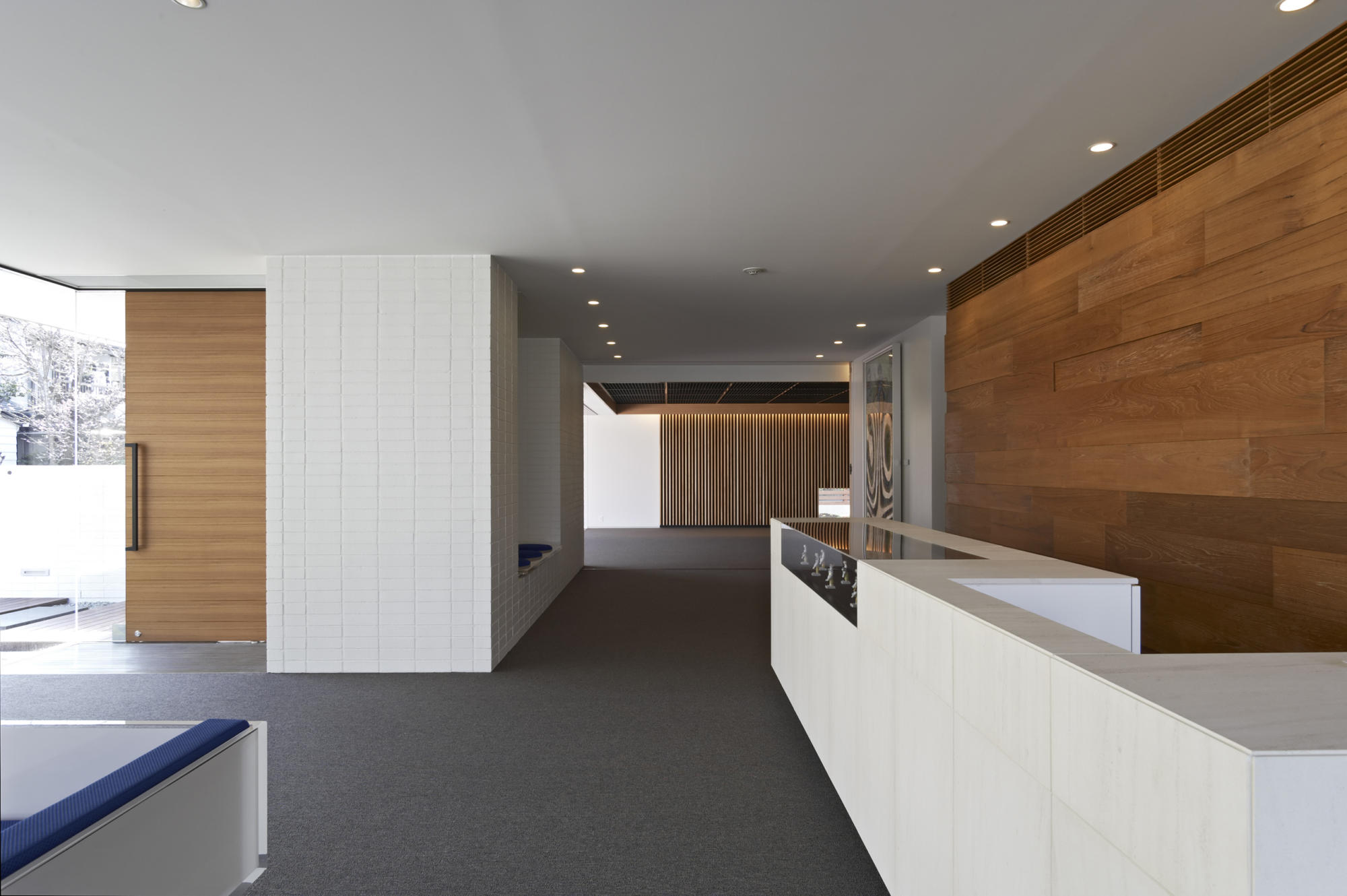 日東薬品構内景観整備計画1-Cent anni Hall | WORKS |