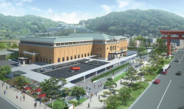 京都市美術館新館計画案