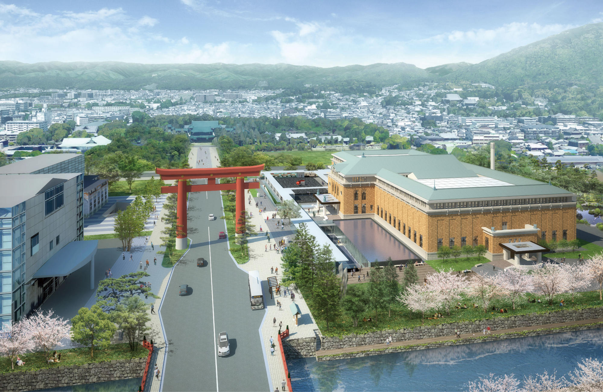 Kyoto City Museum Annex project | WORKS |