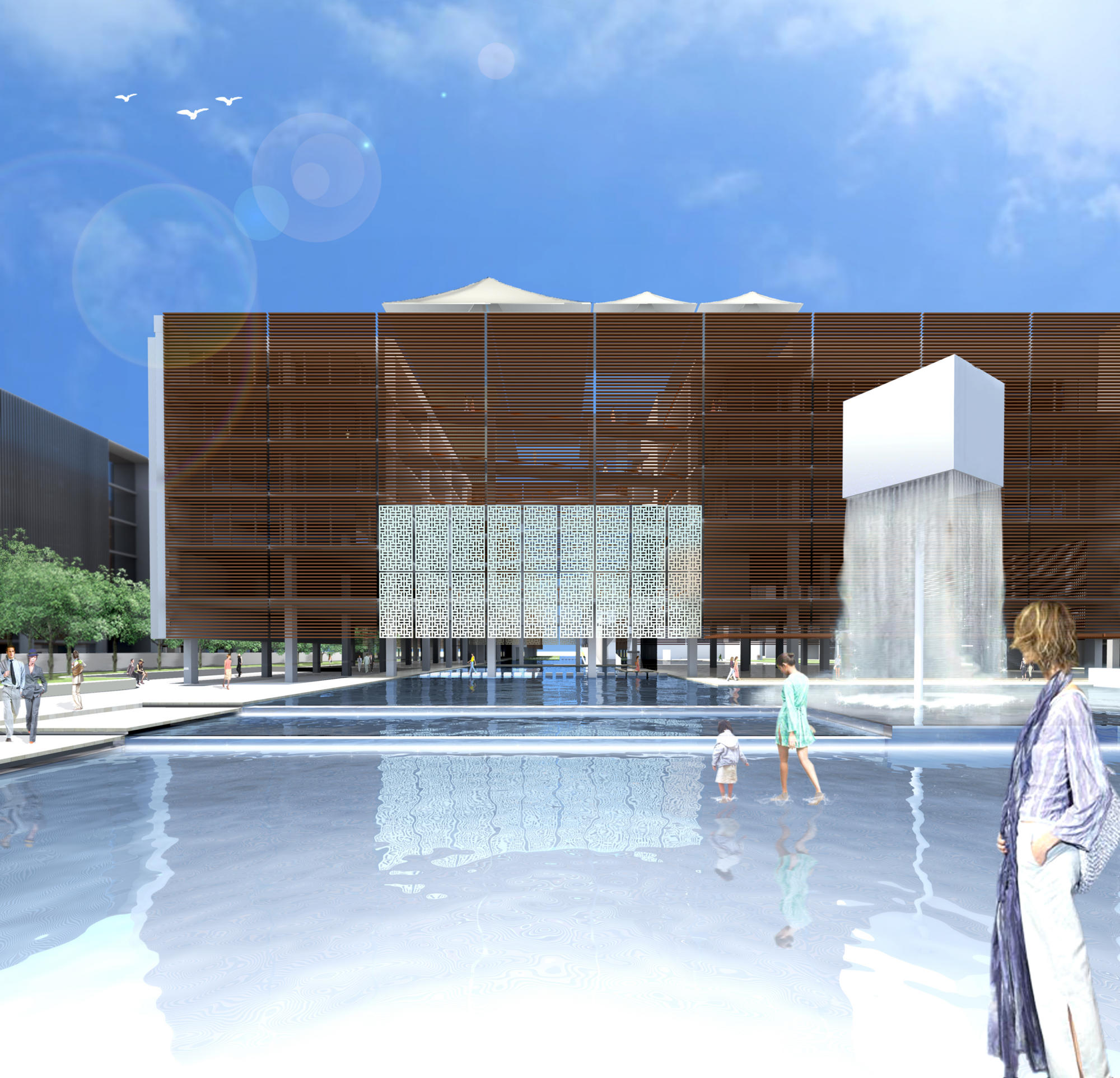 Spiretec office headquarters competition | WORKS |