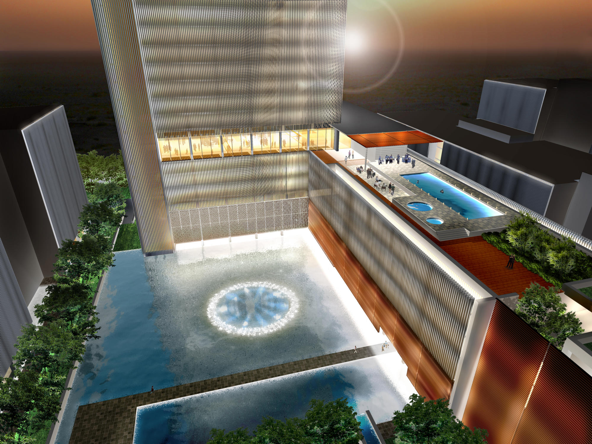 Spiretec office headquarters competition   WORKS  
