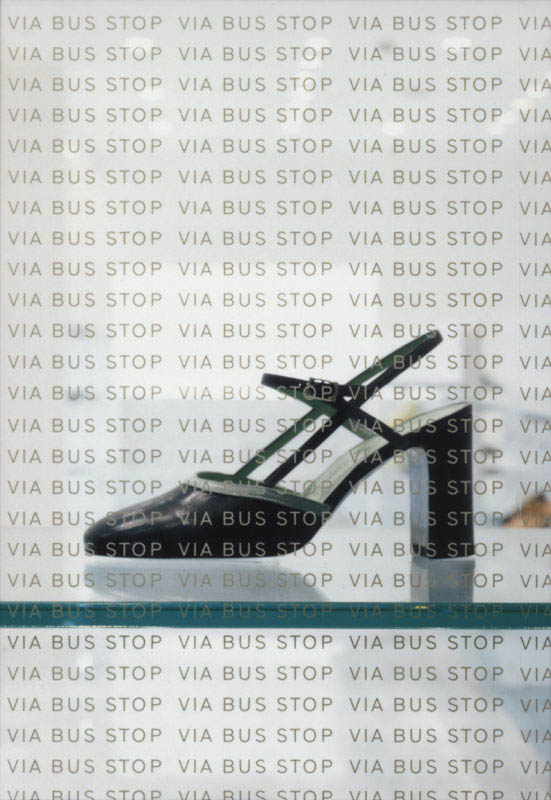 VIA BUS STOP ACCESSORY, Shibuya-PARCO | WORKS |