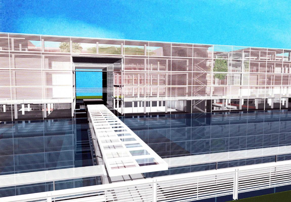 National Library Kansai Division   WORKS  
