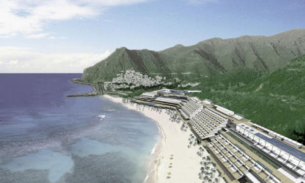 The Urban Planning of the Teresitas beachfront in Santa Cruz de Tenerife