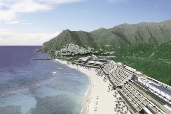 テレシタス・ビーチ開発計画