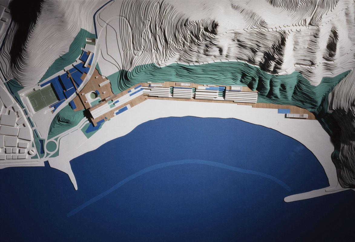 The Urban Planning of the Teresitas beachfront in Santa Cruz de Tenerife   WORKS  