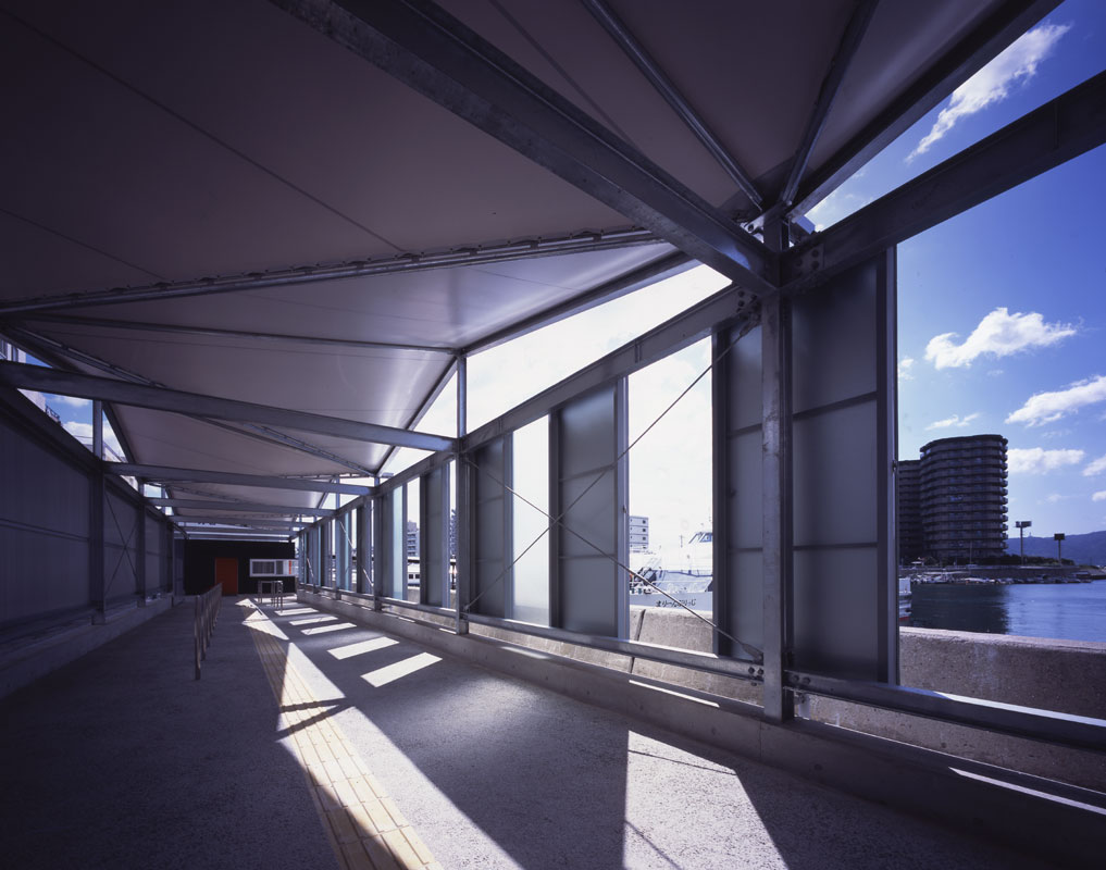 The Meridian line Akashi Ferry Terminal | WORKS |